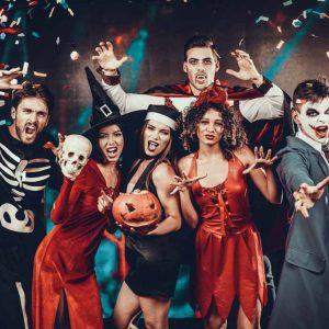 Halloween Kostüme, Scminke & Deko Ideen