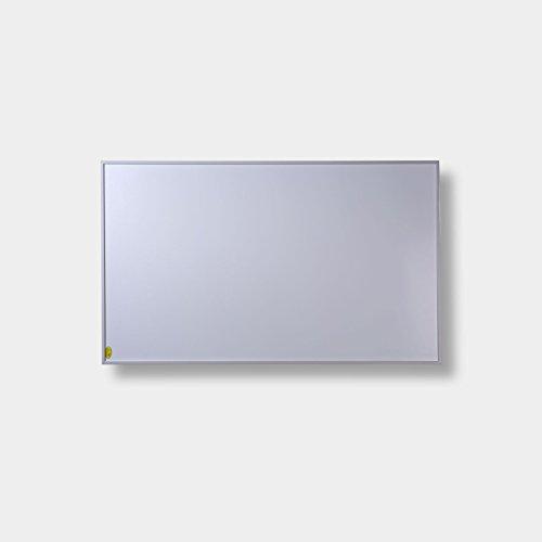 FERN INFRAROTHEIZUNG (neueste Technologie) PREMIUM-Edition 600W Heizpanele auf Carbon Crystal Basis mit höchsten Sicherheitsstandards (CE, ROHS), 50 Jahre/100.000Std Lebensdauer und 99% Heizübertragung inkl. Deckenbefestigungsmaterial (Weiß)